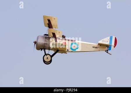 Bremont Great War Display Team - Sopwith Triplane - Stock Photo
