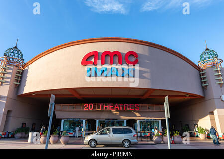 The Amc Movie Theater Cinema And Imax In A Suburban Shopping Center Stock Photo Alamy