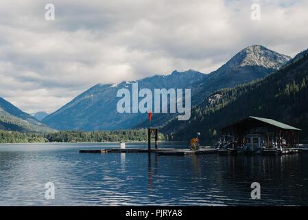 Mountains near Lake Chelan - Stock Photo