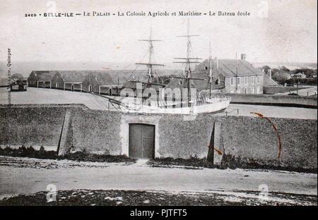 Belle-Ile 2469. - Stock Photo