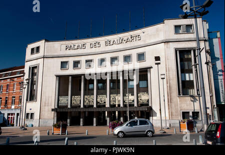 The art deco style Palais des Beaux-Arts in Charleroi (Belgium, 24/10/2011)