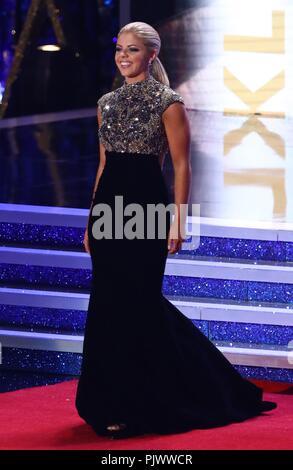 Atlantic City, NJ, USA. 7th Sep, 2018. Miss Oklahoma Ashley Thompson in attendance for 2019 Miss America Preliminary Competition, Boardwalk Hall, Atlantic City, NJ September 7, 2018. Credit: MORA/Everett Collection/Alamy Live News - Stock Photo