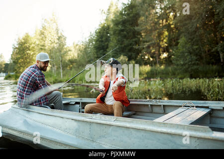 We could fishing there - Stock Photo