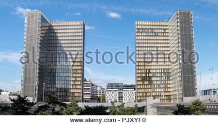 BNF: National Library of France - Paris - Stock Photo