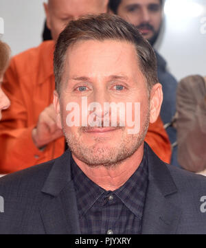 Toronto, Canada. 09th Sep, 2018. Emilio Estevez attends the 'The Public' premiere during 2018 Toronto International Film Festival at Roy Thomson Hall on September 9, 2018 in Toronto, Canada. Credit: Is/Media Punch/Alamy Live News - Stock Photo