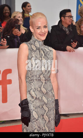 Toronto, Canada. 09th Sep, 2018. Jena Malone attends the 'The Public' premiere during 2018 Toronto International Film Festival at Roy Thomson Hall on September 9, 2018 in Toronto, Canada. Credit: Is/Media Punch/Alamy Live News - Stock Photo