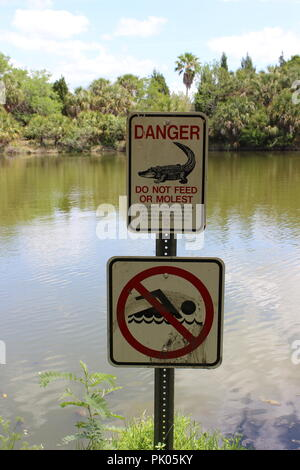 Lake Seminole Park, Park Boulevard North, Seminole, FL, USA - Stock Photo