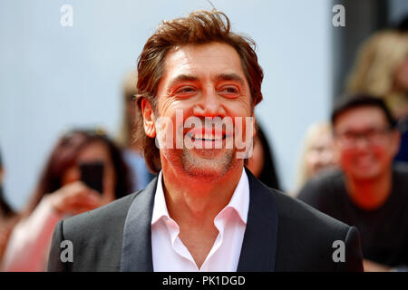 Javier Bardem attending the premiere of 'Everybody Knows' during the 2018 Toronto International Film Festival on September 8, 2018 in Toronto, Canada. - Stock Photo