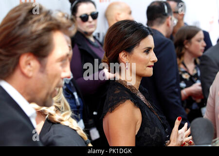 Javier Bardem and Penelope Cruz attending the premiere of 'Everybody Knows' during the 2018 Toronto International Film Festival on September 8, 2018 in Toronto, Canada. - Stock Photo