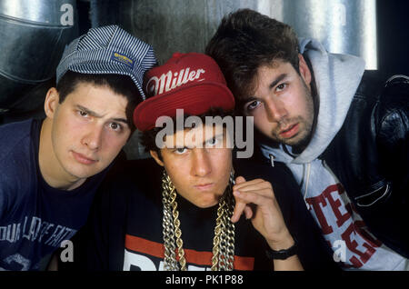 Beastie Boys on 15.05.1987 in Fürth. | usage worldwide - Stock Photo
