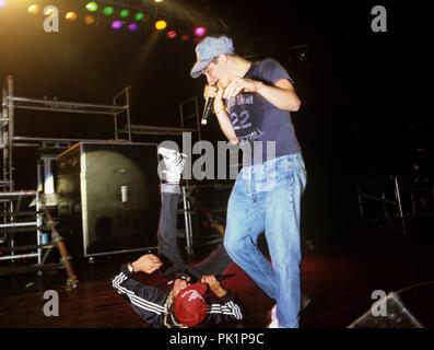Beastie Boys on 15.05.1987 in Fürth. | usage worldwide - Stock Photo