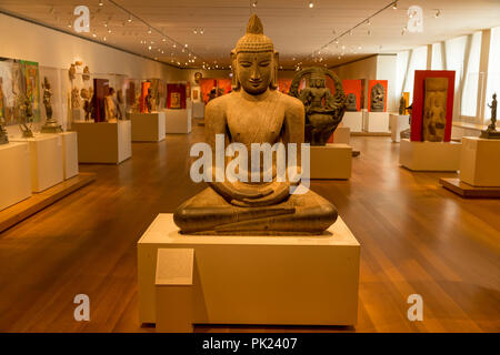 New Gallery of Asian Art, Art Institute of Chicago, Chicago, Illinois, USA, North America, - Stock Photo