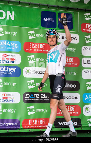 Ovo Tour of Britain, stage 8,London England UK. 9th September 2018 - Stock Photo