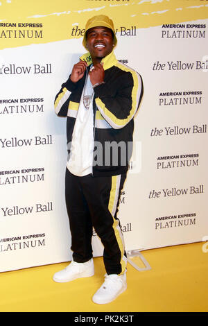 Brooklyn, NY, USA. 10th Sep, 2018. A$AP Ferg at The Yellow Ball at The Brooklyn Museum in New York City on September 10, 2018. Credit: Diego Corredor/Media Punch/Alamy Live News - Stock Photo