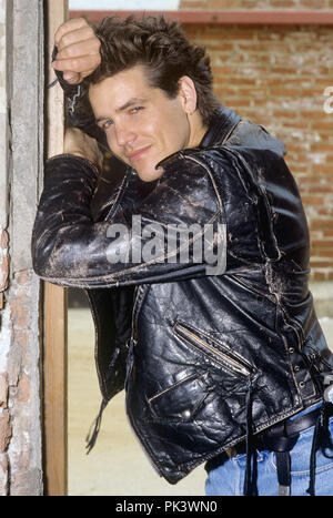 Michael Damian on 07.03.1989 in Los Angeles. | usage worldwide - Stock Photo