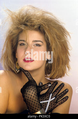 Valerie Dore on 12.12.1984 in München / Munich. | usage worldwide - Stock Photo