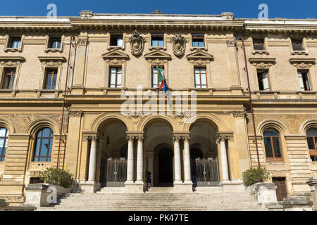 ROME, ITALY - JUNE 23, 2017: Typical building in city of Rome, Italy - Stock Photo