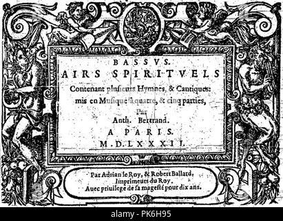 Bertrand Airs 1582. - Stock Photo