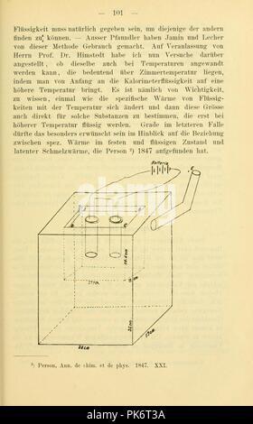 Bericht der Oberhessischen Gesellschaft für Natur- und Heilkunde (Page 101) - Stock Photo