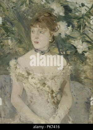 Berthe Morisot - Young Girl in a Ball Gown - - Stock Photo