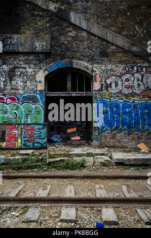 Abandoned train station france stock photo 78542598 alamy - Arrondissement porte d orleans ...