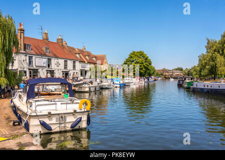 River Ouse, Ely - Stock Photo