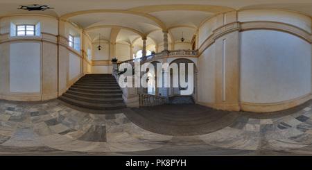 Universita' di Torino - Cortile del Rettorato - Stock Photo