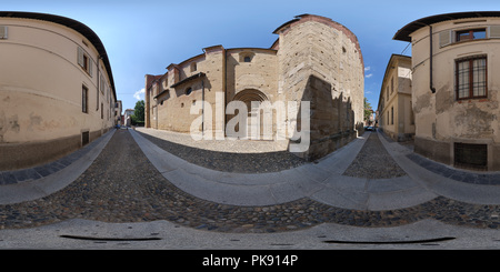 San Michele Maggiore Basilica, the Specious Door - Stock Photo