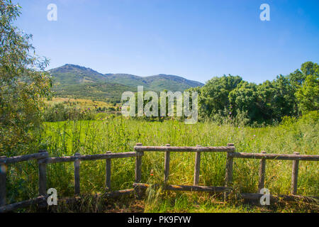 Landscape. Sierra de Guadarrama National Park, Madrid province, Spain. - Stock Photo