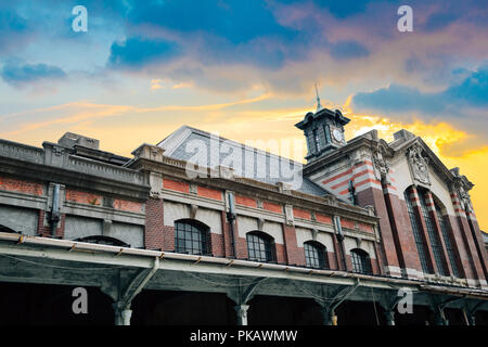 Old Taichung railway station in Taiwan - Stock Photo