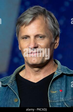 Toronto, Canada. 12th Sep 2018. Viggo Mortensen attends the press conference of 'Green Book' during the 43rd Toronto International Film Festival, tiff, at Bell Lightbox in Toronto, Canada, on 12 September 2018. | usage worldwide Credit: dpa picture alliance/Alamy Live News - Stock Photo