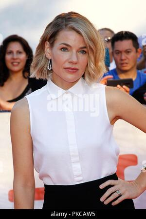 Toronto, Canada. 12th Sep, 2018. Elizabeth Chomko at arrivals for WHAT THEY HAD Premiere at Toronto International Film Festival 2018, Roy Thomson Hall, Toronto, Canada September 12, 2018. Credit: JA/Everett Collection/Alamy Live News - Stock Photo
