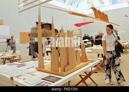 Renzo Piano the Art of Making Buildings 12 September 2018 - Stock Photo
