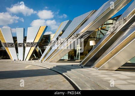 MINSK, BELARUS - SEPTEMBER 11, 2018: Belorussian Museum Of The Great Patriotic War In Minsk, Belarus. - Stock Photo