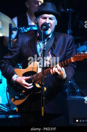 Liverpool,Uk Singer  Paul Carrick performs at Liverpool Philharmonic Hall credit Ian Fairbrother/Alamy Stock Photos - Stock Photo