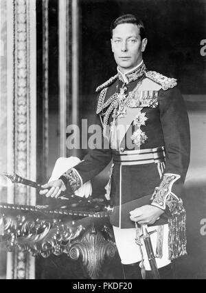 King George VI of Great Britain - Stock Photo