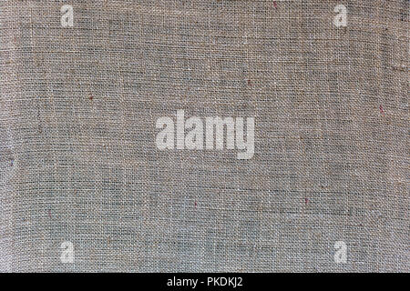 Natural burlap fabric texture background. Natural material with a coarse woven for design and decoration - Stock Photo