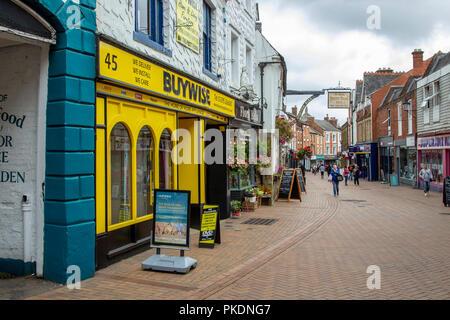 Banbury Oxfordshire, uk. - Stock Photo