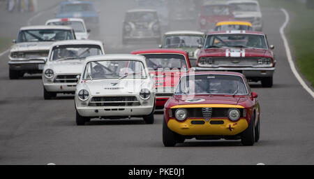 St Mary's Trophy - Goodwood Revival 2018 - Stock Photo