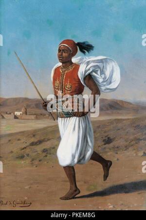 Grandchamp  Louis Emile Pinel De - Le Messager Uc9gyptien - Stock Photo