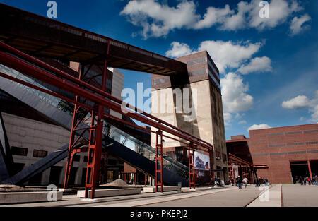 The Zollverein Coal Mine Industrial Complex in Essen (Germany, 02/04/2010) - Stock Photo