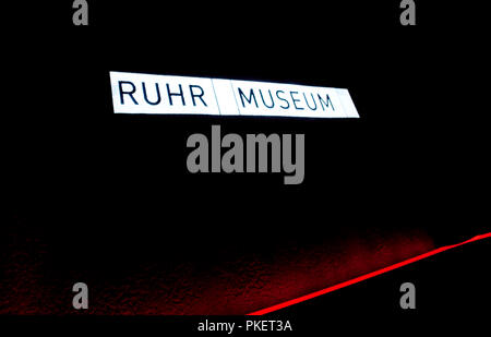 Inside the Ruhr Museum at the Zollverein Coal Mine Industrial Complex in Essen (Germany, 02/04/2010) - Stock Photo