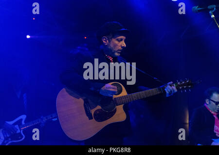 Milan, Italy - September 12, 2018: American indie rock band Mercury Rev performs at Serraglio Music Club. Brambilla Simone Live News photographer Credit: Simone Brambilla/Alamy Live News - Stock Photo