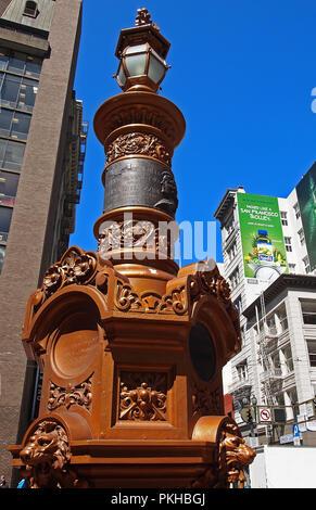 Lotta Crabtree fountain public monument,  San Francisco, California - Stock Photo