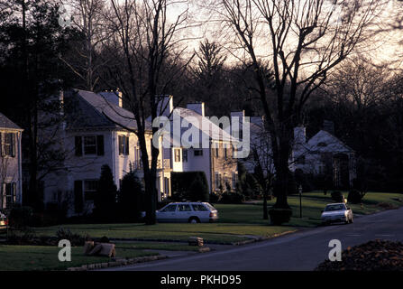 NOT_930480 HOUSE HOME Scarsdale, New York, USA - Stock Photo