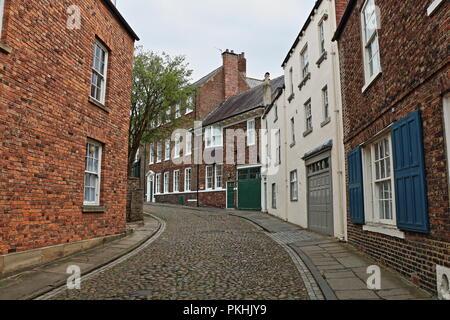 Durham Street Scene, S Bailey, Durham, County Durham, England, United Kingdom - Stock Photo