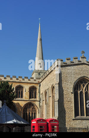 Holy Trinity Church, Market Street (viewed from Sidney Street side), Cambridge, England, UK - Stock Photo