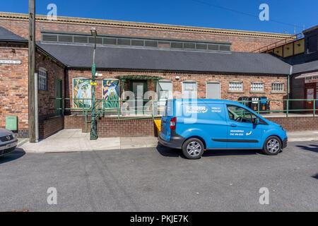Rosamund Street healthcentre, Coronation Street, The Studios from dock10, MediaCity UK, Salford M50 2EQ - Stock Photo