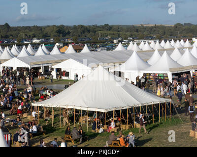 Goodwood Revival, Chichester, West Sussex, England - Stock Photo
