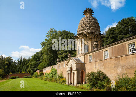The Pineapple at Dunmore, near Airth Scotland - Stock Photo